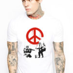 Soldiers of Peace T-shirt Banksy's