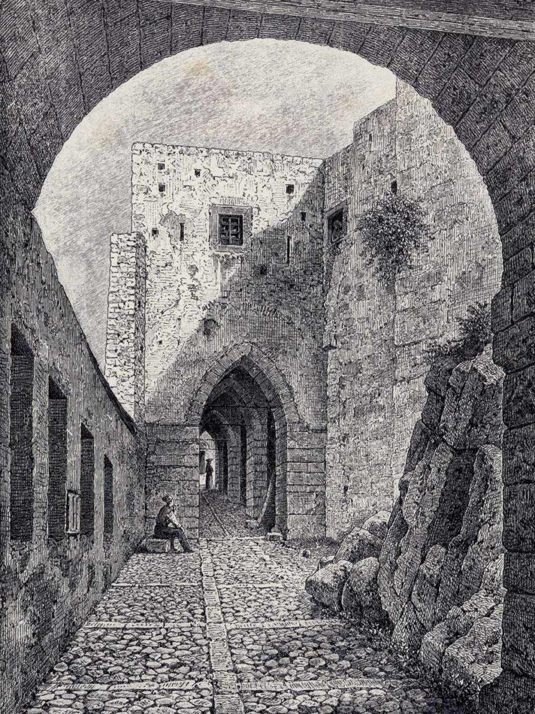 ingresso_castello_b_n